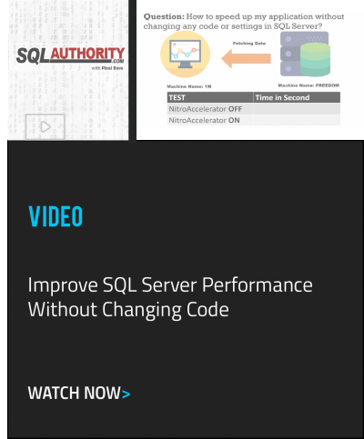 SQL Authority Demo